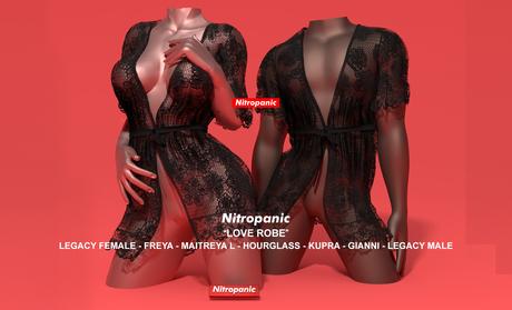 NitroPanic_Love Robe BLACK (add)