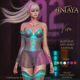 ":: ANTAYA :: Bodysuit and skirt ""Vera"" (wear)"