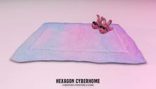 HEXAGON lofi bedroom rug