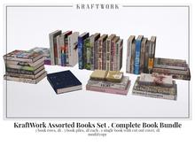 KraftWork Assorted Books Set . Complete Book Bundle (Add Me)