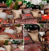 Pitaya - Morocco Dreams -  Seat pillows