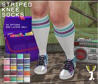 JACKALOPE ; Striped Knee High Socks BOM ; FATPACK