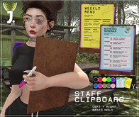 JACKALOPE ; Staff Clipboard - Bento