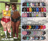 JACKALOPE ; Summer Shorties ; FATPACK