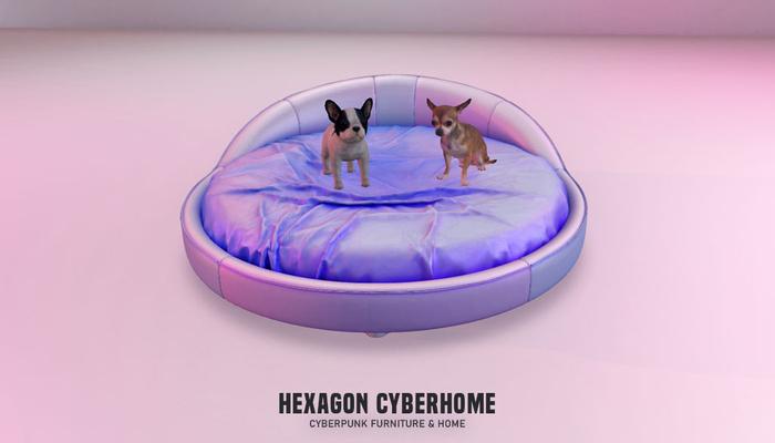 HEXAGON mafia bed for dogs