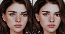 Freckles For Lelutka EvoX (BOM ONLY)