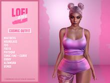 Lofi girl cosmic panties - galaxy
