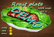 Roast plate DEMO *Box*