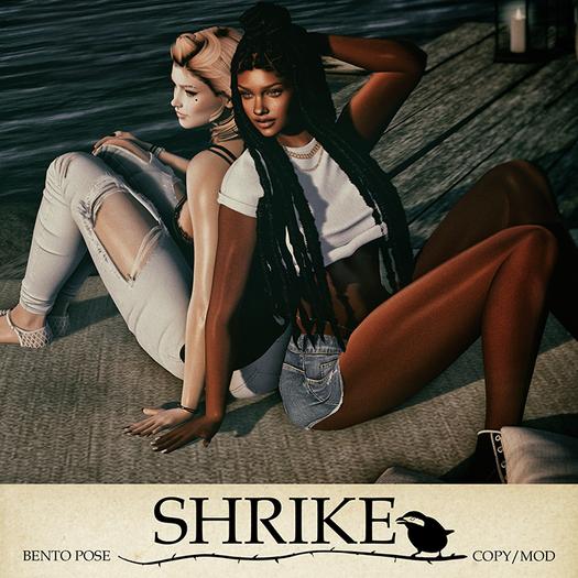 SHRIKE - Besties Forever - Friends Pose