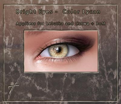 Tville - Bright Eyes *Lycan* for Lelutka EVO / LeL EVO X / Catwa / BoM