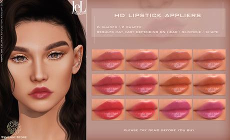 [SYN] Synergy HD Lipstick Tama LELUTKA EVO