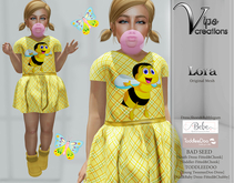 [Vips Creations] - Original Mesh Kid Outfit - [Lora 1]FITTED-Kids Dress