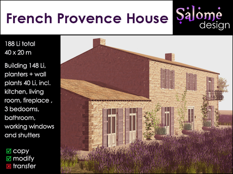 French Provence House