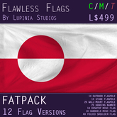 Greenland Flag (Fatpack, 12 Versions)