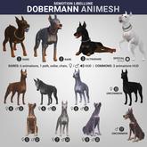 SEmotion Libellune Dobermann Animesh #2 RARE