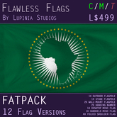African Union Flag (Fatpack, 12 Versions)