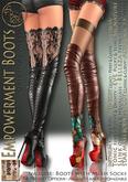 ***ArisArisB&W~Empowerment Boots - CUSTOM HUD(ADD)