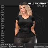 [UG MESH]  JILLIAN SHIRT - KUPRA ADD ON