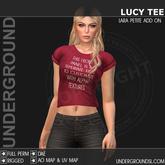 [UG MESH] LUCY TEE - LARA PETITE ADD ON
