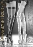 DEMO***ArisArisB&W~Empowerment Boots - CUSTOM HUD(ADD)