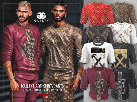 GUILTY 052 Art Shirt FATPACK