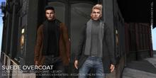 Nero - Suede Overcoat - FATPACK