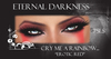 """::ED:: Cry me a rainbow-""""Erotic red"""" eye make up"""