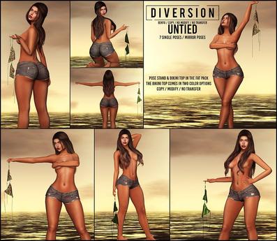 Diversion - Untied Poses // Bento