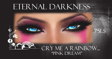 "::ED:: Cry me a rainbow-""pink dream"" eye make up"