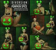 Diversion - Pumpkin Spice Poses // Bento