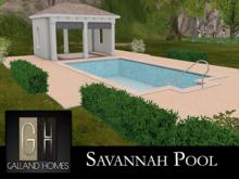 Savannah Pool  by Galland Homes