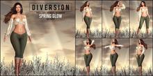 Diversion - Spring Glow Poses // Bento