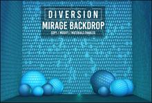 Diversion - Mirage Backdrop