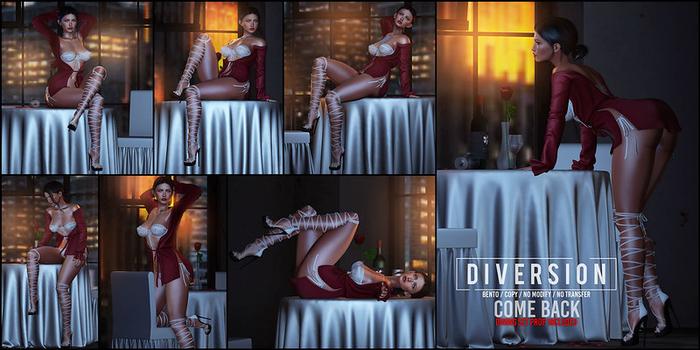 Diversion - Come Back - Poses // Bento