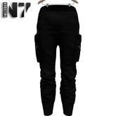 Nero - Zante Cargo Pants - Black