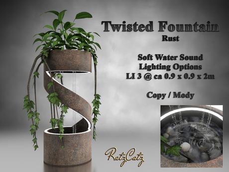 .: RatzCatz :. Twisted Fountain - Rust Style
