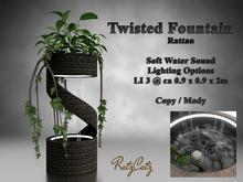 .: RatzCatz :. Twisted Fountain - Rattan Style