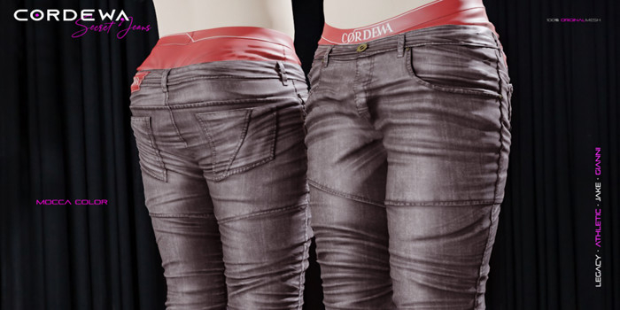 *CORDEWA* SECRET JEANS MOCCA