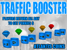 Atlantis Coins System Owners Package - 50% tax