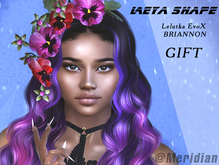 [Meridian] Leya Shape for  Lelutka EvoX BRIANNON