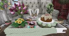 CJ Easter Tray Happy Easter + Hot Drinks - Dispenser