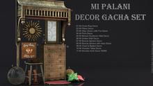 11 MI Wooden Arch Decor RARE
