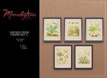 Moonley Inc. - Vintage Fern Frame Set 2