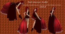 Red Warrior Outfit