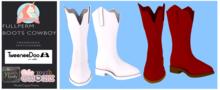 ::SU::Fullperm Boots Cowboy{TweeneeDoo/Youth/Chonk}