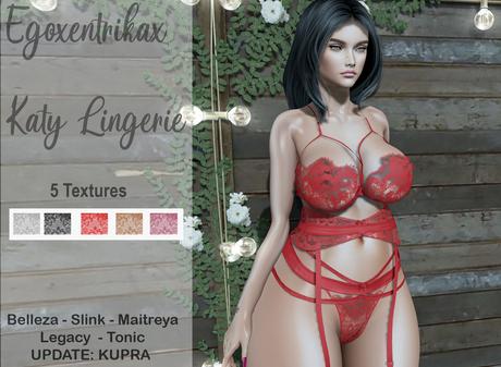 ::EGO - Katy Lingerie:: 5 Colors Update