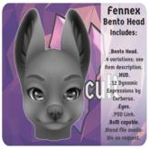 +SG+ Fennex Head