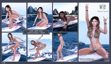 [ west end ] Bento Poses - Surf, Baby, Surf w/Surfboard (add)