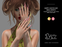 K.D Happy Easter Day Nails - Wear me/Touch me