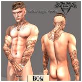 [Ner .Ink] Tattoo Loyal Truth * < UNISEX>
